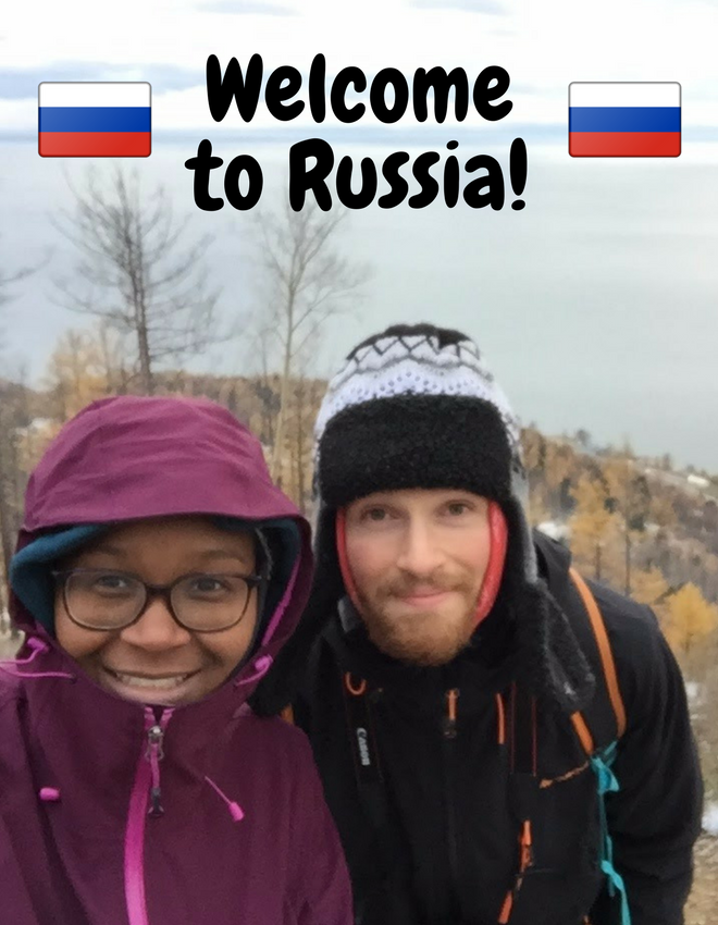 Travelling-Learners : Ankomst i Russland