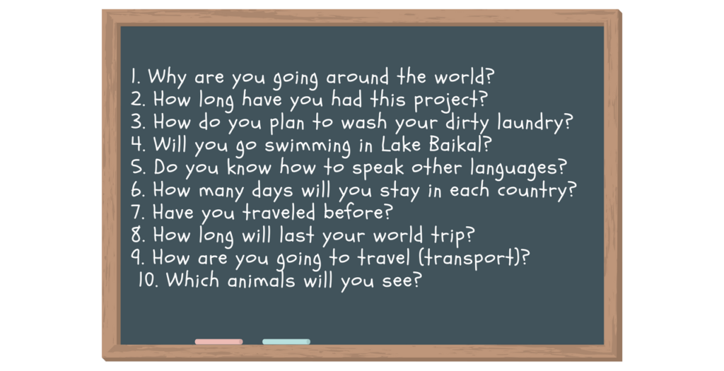 Travelling kids questions