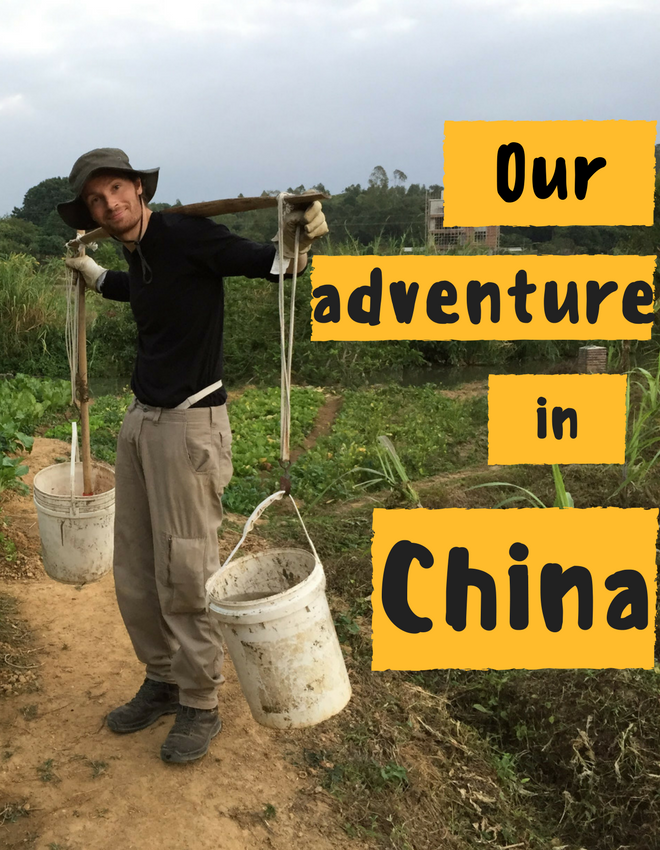 Our Workaway adventure in China