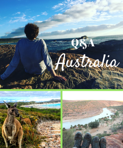 Q&A with pupils about Australia